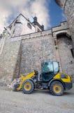 Carrello elevatore a forcale sotto Wernigerode Casle, Germania Immagine Stock Libera da Diritti