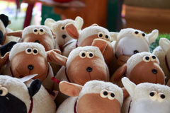 Carrello le pecore Immagine Stock