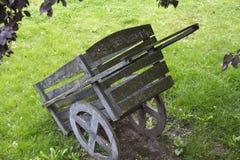 Carrello nel castello della Fiandre Fotografia Stock
