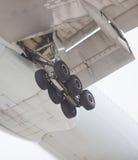 Carrello principale di atterraggio Immagini Stock