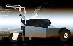 Carrello resistente Fotografia Stock Libera da Diritti
