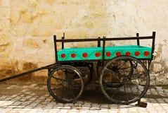 Carrello tradizionale fotografie stock
