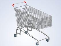 Carrello vuoto del supermercato di vettore Illustrazione di Stock
