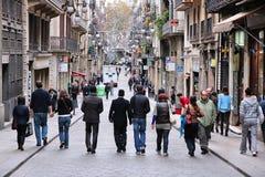 Carrer de Ferran, Barcelona Stock Image