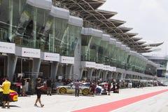 Carrera杯亚洲2015年,雪邦,马来西亚 库存照片