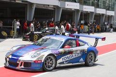 Carrera Cup Asia 2015, Sepang, Malaysia Stock Image
