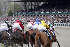 Carrera de caballos Foto de archivo