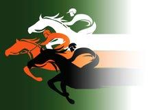 Carrera de caballos libre illustration