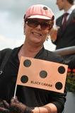 Carrera de caballos, día de señoras en el Ascot Fotografía de archivo libre de regalías