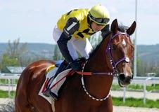 Carrera de caballos para el premio del Vesenni Fotografía de archivo libre de regalías