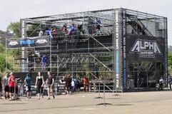 Carrera de obstáculos Imagen de archivo