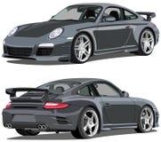 Carrera de Porsche 911 stock de ilustración