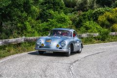 CARRERA 1956 DE PORSCHE 356 A 1500 GS photo stock