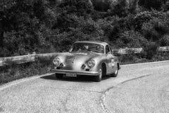 CARRERA 1956 DE PORSCHE 356 A 1500 GS image stock