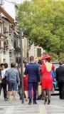Carrera del Darro-glamour-Granada Royaltyfri Fotografi