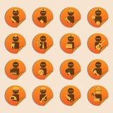 Carrera Icons01 Imagen de archivo