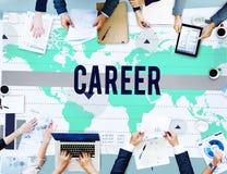 Carrera Job Occupation Business Marketing Concept Imágenes de archivo libres de regalías