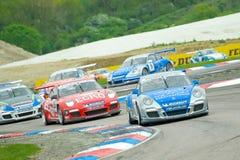 carrera Porsche στοκ εικόνα