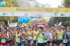 39 Carrera urbana Ciudad de Malaga Stock Photography