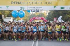 39 Carrera urbana Ciudad de Malaga Royalty Free Stock Images