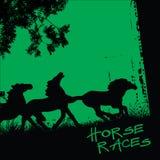 Carreras de caballos Fotografía de archivo