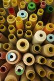 Carretéis da linha Sewing Imagem de Stock