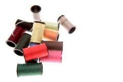 Carretéis do algodão Fotos de Stock