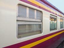 Carretón clásico tailandés del tren Fotografía de archivo libre de regalías