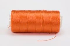 Carrete anaranjado Imagenes de archivo
