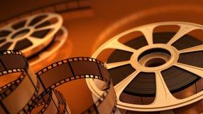 Carrete con la cinta Foto de archivo libre de regalías
