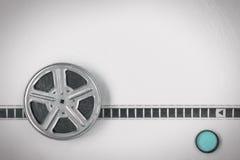 Carrete con la película Foto de archivo libre de regalías