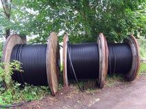 Carrete de cable Imagenes de archivo