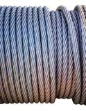Carrete de cable de acero Fotografía de archivo libre de regalías