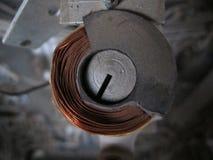 Carrete de cobre Fotos de archivo libres de regalías
