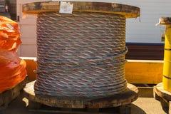 Carrete de la cuerda Fotos de archivo libres de regalías