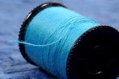 Carrete de la cuerda de rosca Fotos de archivo