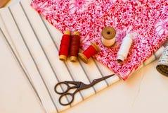 Carrete de la cuerda de rosca Cosa los accesorios Imagen de archivo libre de regalías