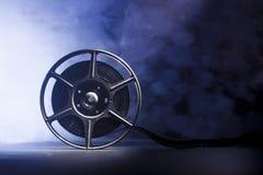 Carrete de la película con la película fotografía de archivo libre de regalías