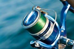 Carrete de la pesca Imagen de archivo libre de regalías