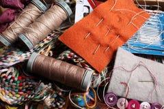 Carrete de las herramientas de la cuerda de rosca y de la personalización Imagenes de archivo