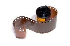 Carrete de película 35m m Fotos de archivo libres de regalías