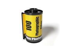 Carrete de película Imágenes de archivo libres de regalías
