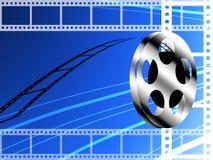 Carrete de película, concepto de la película Imagenes de archivo
