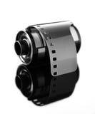 carrete de película negativo de 35m m para la cámara Fotografía de archivo libre de regalías