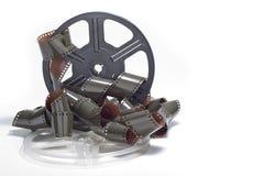 Carrete del carrete de película aislado fotografía de archivo libre de regalías