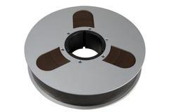 Carretel da cassete áudio Fotografia de Stock