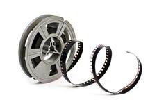 Carretel da película de filme do vintage 8mm Imagens de Stock