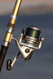 Carretel da pesca fotos de stock