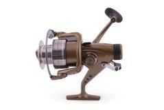 Carretel da pesca (trajeto de grampeamento) Fotos de Stock Royalty Free