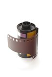 Carretel de filme Fotos de Stock